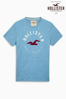 Hollister Blue Graphic T-Shirt