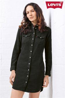 Levi's® Black Iconic Western Dress