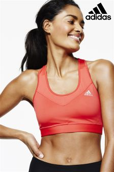 adidas Coral Tech Fit Mid Support Bra