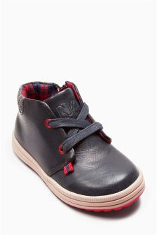 Lace-Up Desert Boots (Younger Boys)
