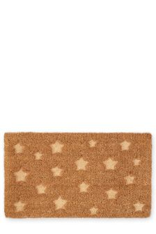 Star Embossed Doormat