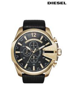 Gold Diesel® Mega Chief Watch
