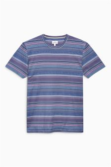 Patterned Stripe T-Shirt