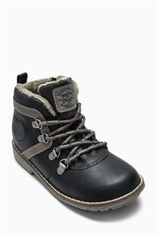 Lace Up Hiker Boots (Younger Boys)