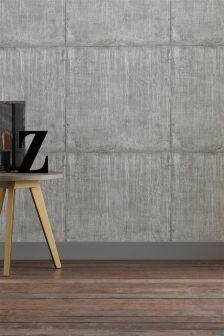 Large Concrete Blocks Wallpaper
