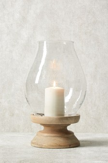 Country Luxe Hurricane Lantern