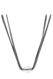 Set Of 2 Charcoal Round Optical Tie Backs