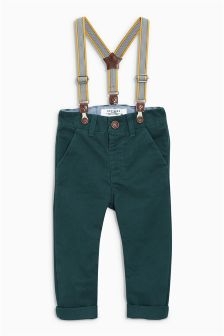 Braced Chinos (3mths-6yrs)