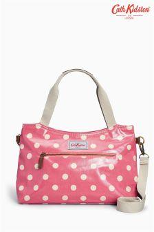 Cath Kidston Button Spot Zipped Handbag