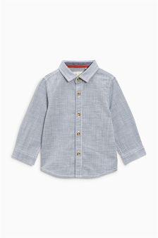 Texture Long Sleeve Shirt (3mths-6yrs)