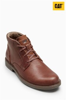 Cat® Brown Gingerbread Brock Lace Chukka