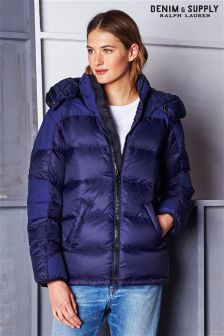 Ralph Lauren Denim And Supply Navy Down Jacket