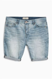 Skinny Premium Denim Shorts