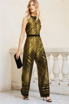 Devoré Jumpsuit