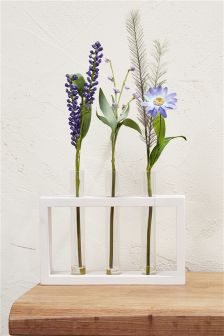 Floral Test Tube Tray