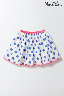 Boden Blue Pretty Twirly Skirt