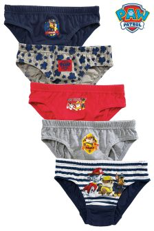 Paw Patrol™ Briefs Five Pack (1.5-6yrs)