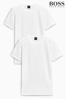 BOSS Slim Fit Underwear T-Shirts Two Pack