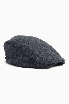 Check Flat Cap