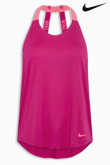Nike Pink Breathe Training Tank