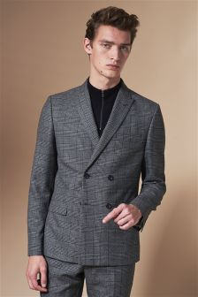 Bold Check Suit