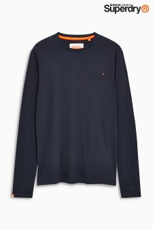 Superdry Vintage Embroidered Long Sleeve T-Shirt