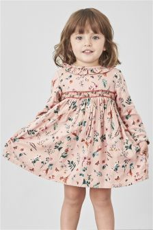 Ditsy Shirred Dress (3mths-6yrs)