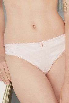 Ted Baker Embroidered Lace Thong