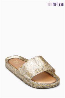 Mini Melissa Beach Gold Slider