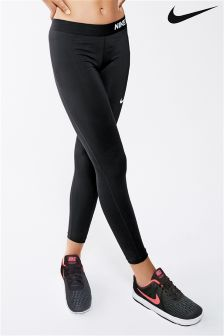 Nike Pro Cool Black Capri