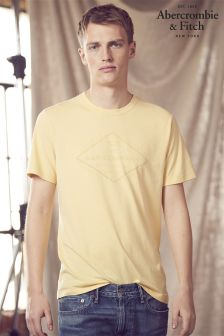 Abercrombie & Fitch Yellow T-Shirt