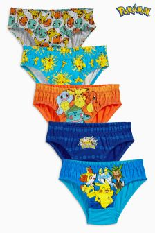 Pokémon™ Briefs Five Pack (2-10yrs)