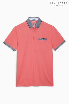 Ted Baker Coral Shapiro Polo