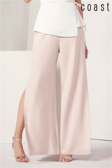 Coast Blush Morgan Wide Leg Trouser