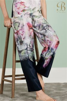 Ted Baker Black And Cream Pyjama Pant