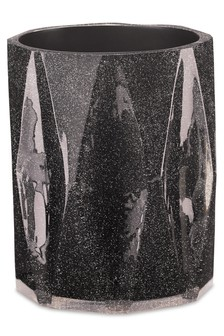Black Glitter Bin