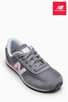 New Balance 410 Grey/Pink Trainer