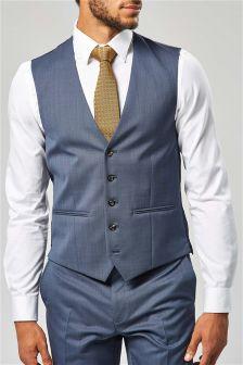 Signature Tailored Suit: Waistcoat
