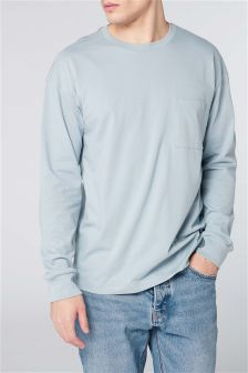 Long Sleeve Drop Shoulder T-Shirt
