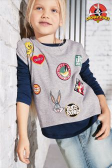Looney Tunes™ Short Sleeve T-Shirt (3-16yrs)