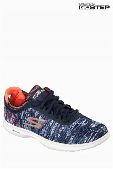 Skechers® Navy/Coral Go Step Trainer