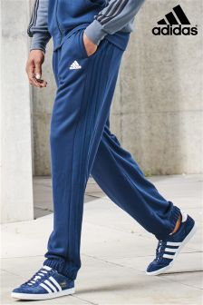 adidas Navy 3 Stripe Essential Pant