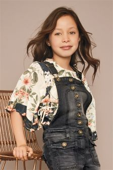 Print Patch Blouse (3-16yrs)