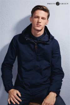 Pretty Green Navy Festival Jacket