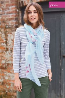Joules Harbour Grey Stripe Top