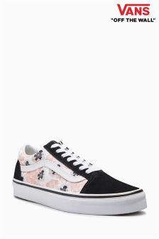 Vans Black/Pink Poppy Old Skool