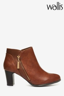 Oasis Black Leather Loafer