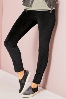 Cord Zip Trousers