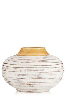 Distressed Ceramic Vase