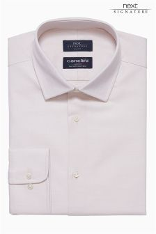 Signature Canclini Textured Shirt
